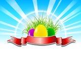 Fond de Pâques Images libres de droits