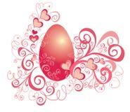 Fond de Pâques avec des oeufs Image libre de droits