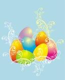 Fond de Pâques, illustration de vecteur Photos libres de droits