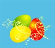 Fond de Pâques, illustration de vecteur Photographie stock