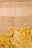 Fond de pâtes Photo stock