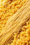Fond de pâtes d'oeufs Photographie stock libre de droits
