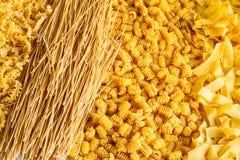 Fond de pâtes d'oeufs Photo libre de droits