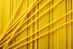 Fond de pâtes de spaghetti Images libres de droits