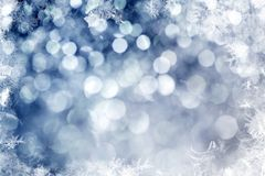 Fond de pétillement de Noël Image stock