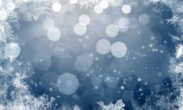 Fond de pétillement de Noël Photographie stock