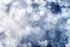 Fond de pétillement de Noël Photos stock