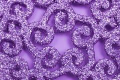 Fond de pétillement violet Photographie stock libre de droits
