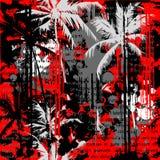 Fond de Palm Beach illustration de vecteur
