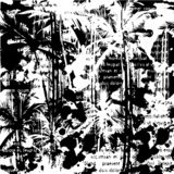 Fond de Palm Beach illustration stock