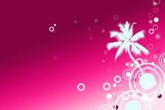 Fond de Palm Beach de vacances illustration libre de droits