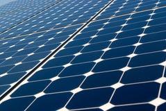 Fond de panneau solaire Photo stock