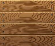 Fond de panneaux en bois Photographie stock libre de droits