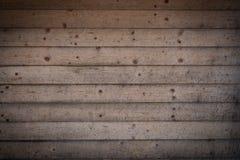 Fond de panneaux en bois de vintage avec le cadre de dégradé Modèle en bois grunge Contexte approximatif de panneaux Photos libres de droits