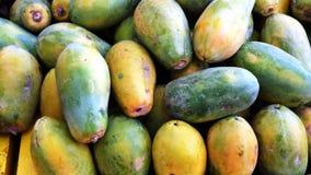 Fond de papaye de miel Photographie stock libre de droits