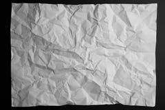 Fond de papier chiffonné Photos libres de droits