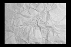 Fond de papier chiffonné Images libres de droits