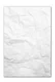 Fond de papier chiffonné de texture Photos stock