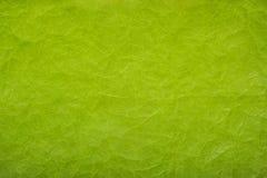 Fond de papier chiffonné Fond de Livre vert Texture de papier chiffonné Image stock