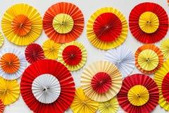 Fond de papier coloré Photos stock