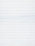 Fond de papier de cahier Photographie stock