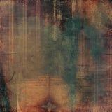 Fond de papier de collage de cru Photographie stock libre de droits