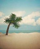 Fond de papier de plage Image libre de droits