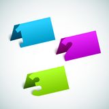 fond de papier de progrès du vecteur 3D Image libre de droits