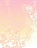 Fond de papier de roses Photographie stock libre de droits