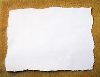 Fond de papier fabriqué à la main Images stock