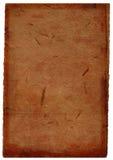 Fond de papier fabriqué à la main de Brown foncé Photographie stock libre de droits