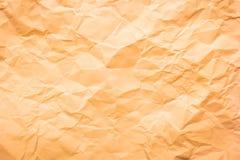 Fond de papier froissé Photos stock