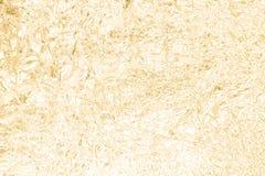 Fond de papier froissé par or d'abrégé sur texture Photographie stock