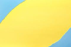 Fond de papier Jaune et bleu photo libre de droits