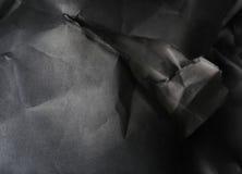 Fond de papier noir et blanc Photos libres de droits