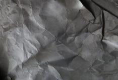Fond de papier noir et blanc Photo libre de droits