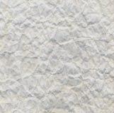 Fond de papier ondulé par blanc Photos stock