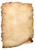 Fond de papier parcheminé Image stock