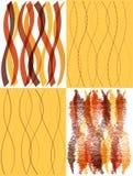 Fond de papier peint d'ondes Images libres de droits