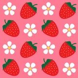 Fond de papier peint de fraise Image stock