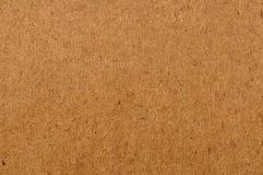 Fond de papier réutilisé brun normal de texture Photos stock