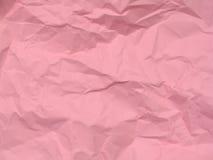 Fond de papier rose de texture Photo libre de droits