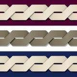 Fond de papier sans couture de cadre de noeud Photo stock