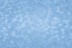 Fond de papier texturisé avec des effets extérieurs bleus image stock