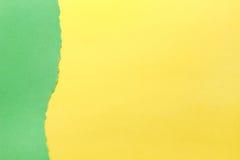 Fond de papier Vert et jaune photos libres de droits
