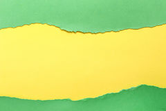 Fond de papier Vert et jaune photo libre de droits