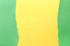 Fond de papier Vert et jaune image libre de droits