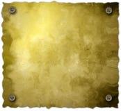 Fond de parchemin de vis d'isolement Image libre de droits