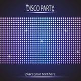 Fond de partie de disco L'espace pour votre texte Images stock