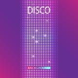 Fond de partie de disco L'espace pour votre texte Image libre de droits